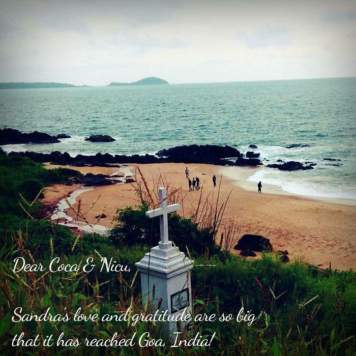 From Goa, India…