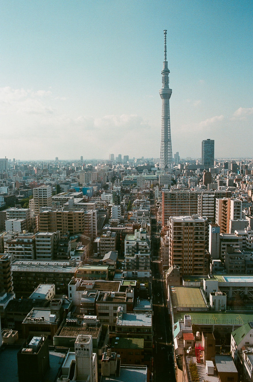 Japan In 35mm Film