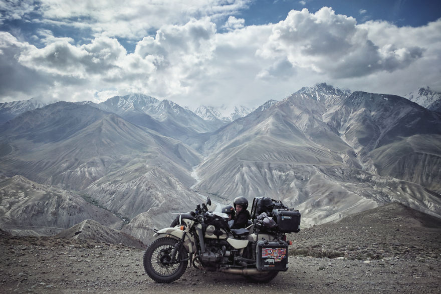 The Wakhan Corridor In Tajikistan, 4.000 Meters Altitude