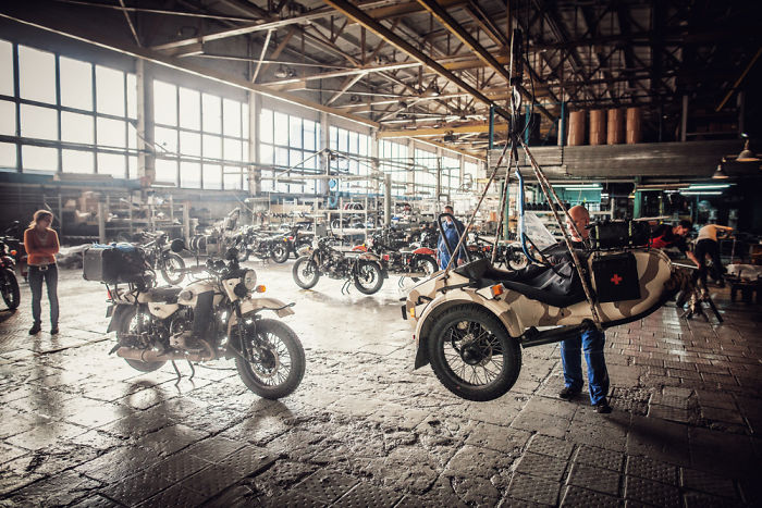 Visiting The Ural Motorcycle Factory In Irbit, Russia And Doing A Complete Service To Our Bike