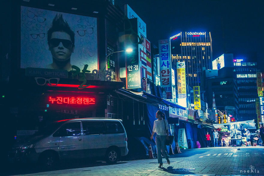 I Take Photos Of Seoul At Night
