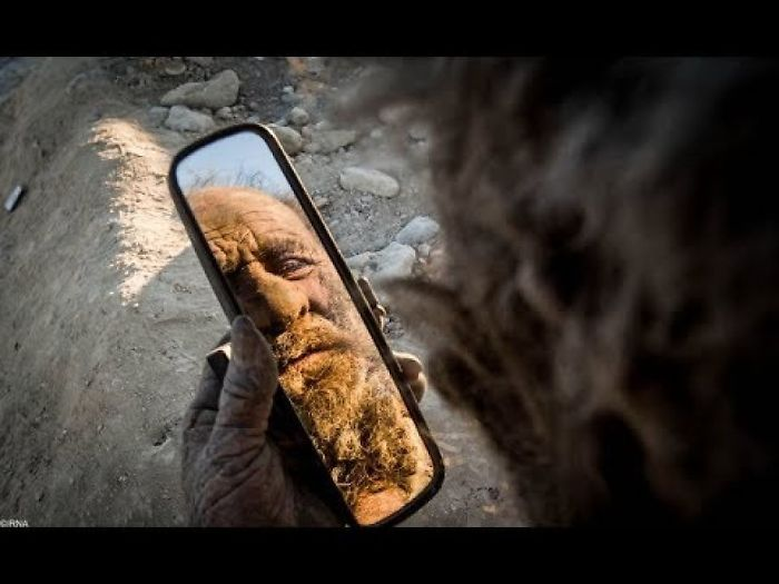 This Man Has Not Bathed In 60 Years Wait Until You See What He Looks Like