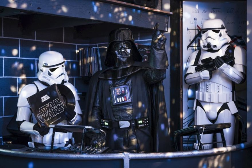 Photographer Imagines What It Would Be Like If Darth Vader Went Through A Financial Crisis