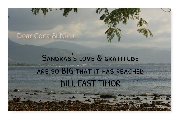 Hello From Dili, East Timor!