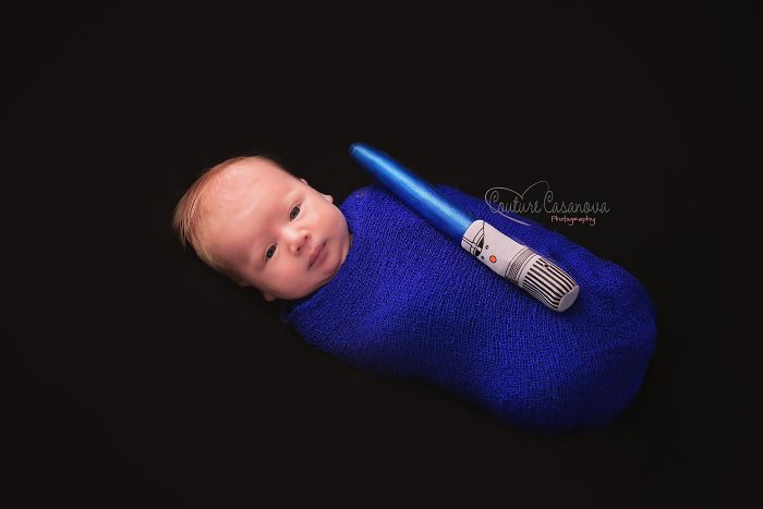The Force Is Strong With This One. The Force Also Wants Some Milk