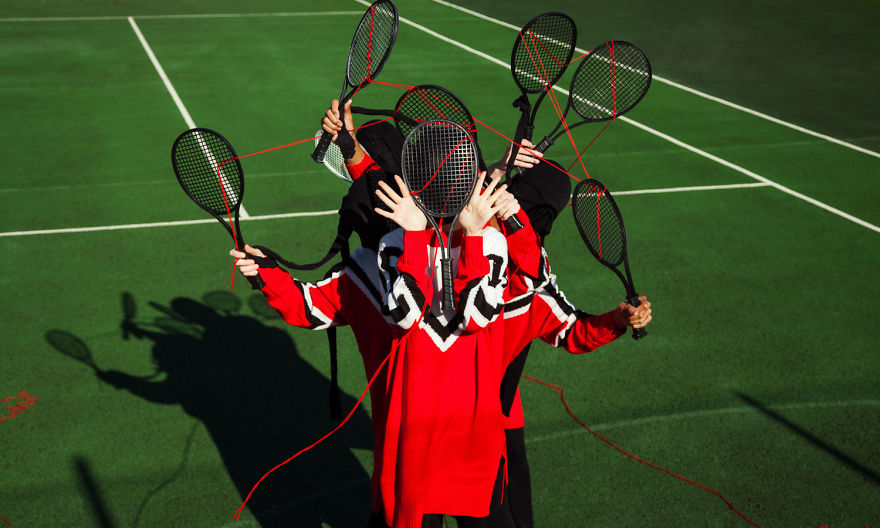 This Eccentric Series Looks At Sport From Totally New Perspective