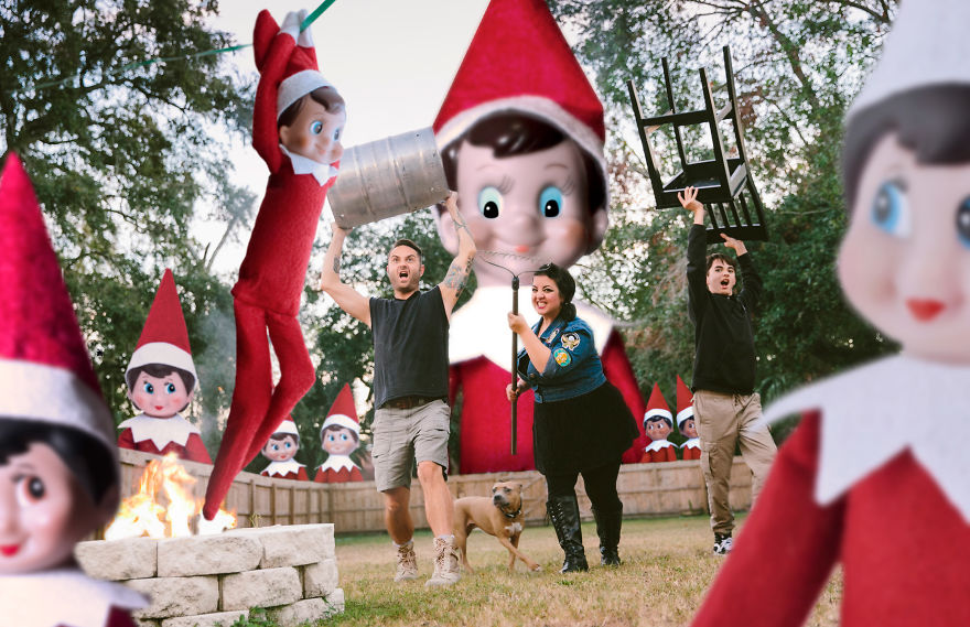 The Chester Family Creative Christmas Card Collection