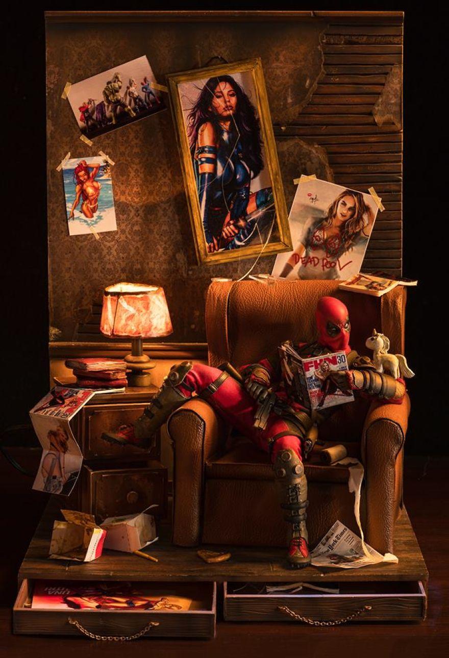 The Secret Life Of Superhero Toys By Edy Hardjo (New Pics)