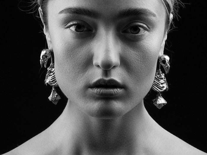 Ukrainian Designer Creates Incredible Animalistic Jewellery