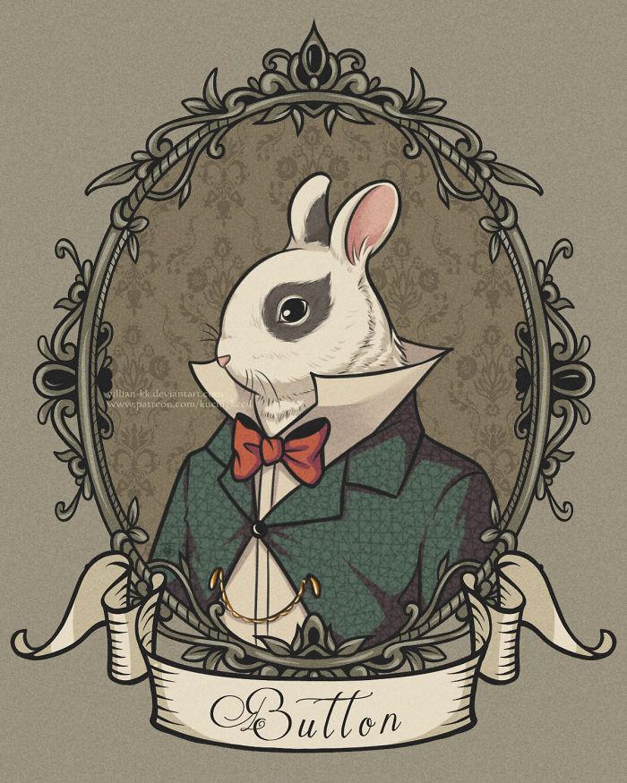 Bunnyamin Button