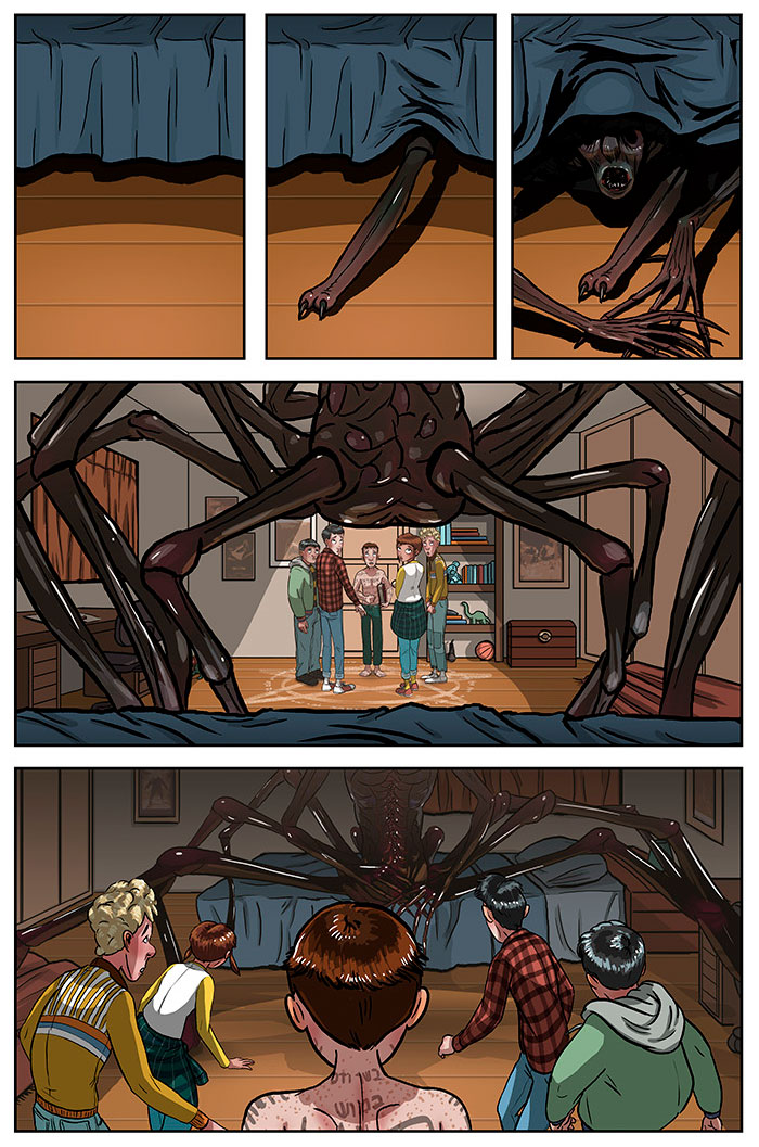 2 Years Ago We Began Creating Comics With Twisted Endings