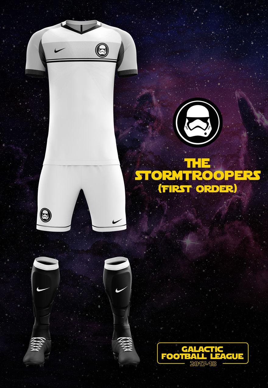I Designed Star Wars Football Kits