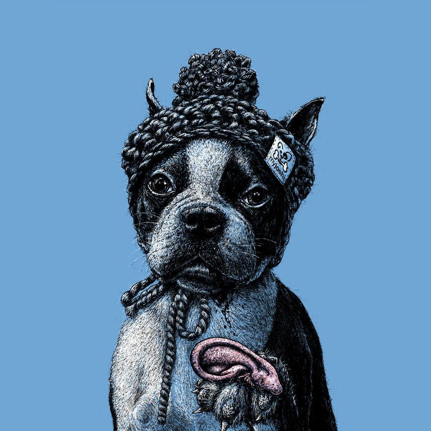 Human Animals By German Animal Rights Artist Roland Straller