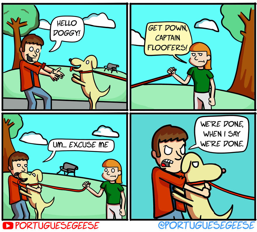 Portuguese Geese Comic