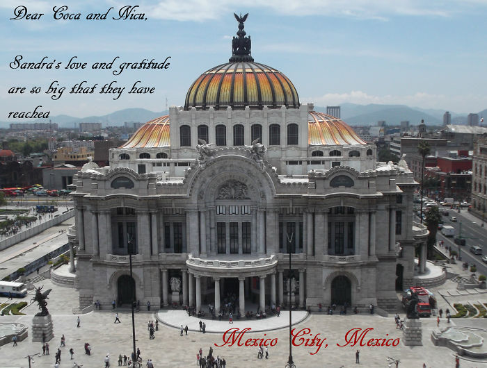 Greetings From Mexico City!