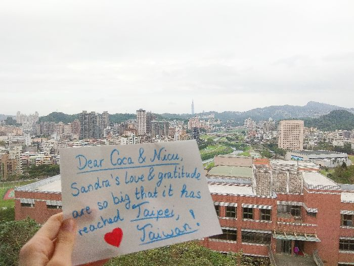 Greetings From Taiwan!