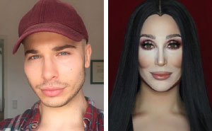 Drag Queen From Manchester Is So Good At Makeup, He Can Turn Into Literally Any Celebrity