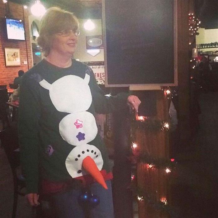 Ugly Christmas Sweater Became Very Original