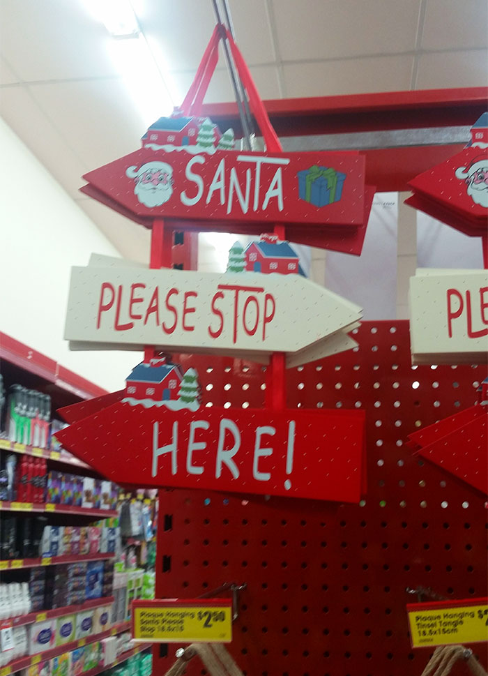 Wait, Where Is Santa Meant To Be Stopping?