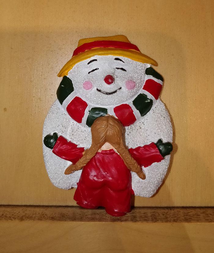 Snowman Getting A Snowjob