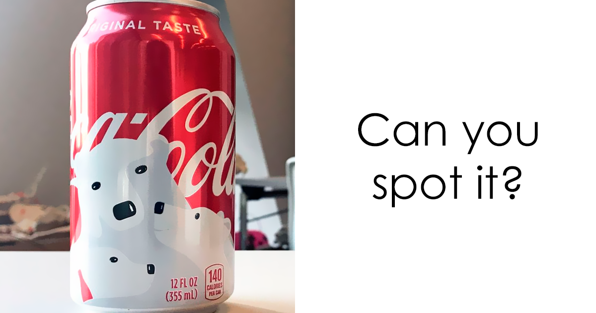 Coca-Cola's Holiday Cans Contain Hidden Designs, And You'll Smile When You Notice Them
