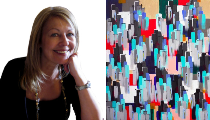 How Self-Taught Artist, Susie Hall, Has Persisted With Her Passion To Find Success