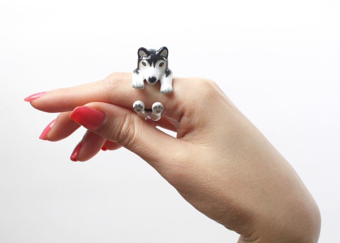 Come Up With 3 Pieces Rings Idea: Boasting Cute Animal Figures