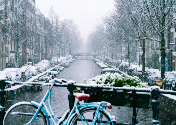I've Never Seen So Much Snow In Amsterdam