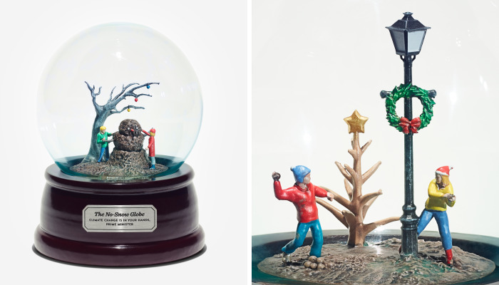Snowless Snow Globes Imagine The Future Of Christmas At The Hands Of Climate Change