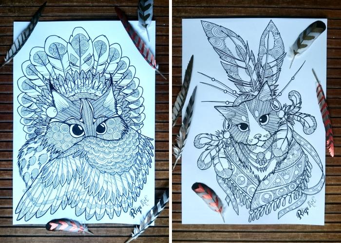 "I Created A Unique Cats Tribe Called ""Miiauji"" (Part 2)"