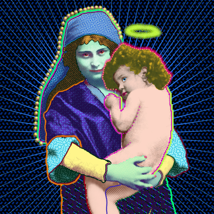 Painter Of Code Creates Gigapixel Madonna And Child Painting Using Custom Software