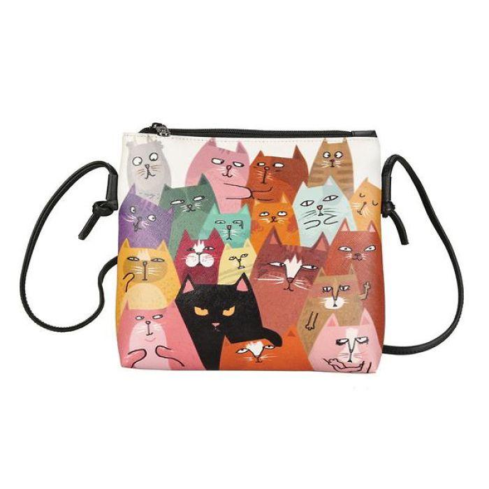 Crazy World Of Cats Bag
