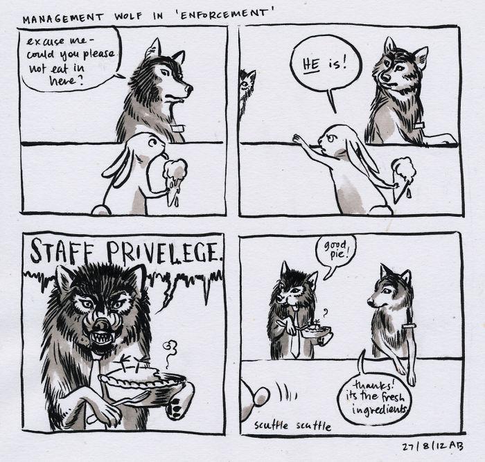 Management Wolf In 'Enforcement'