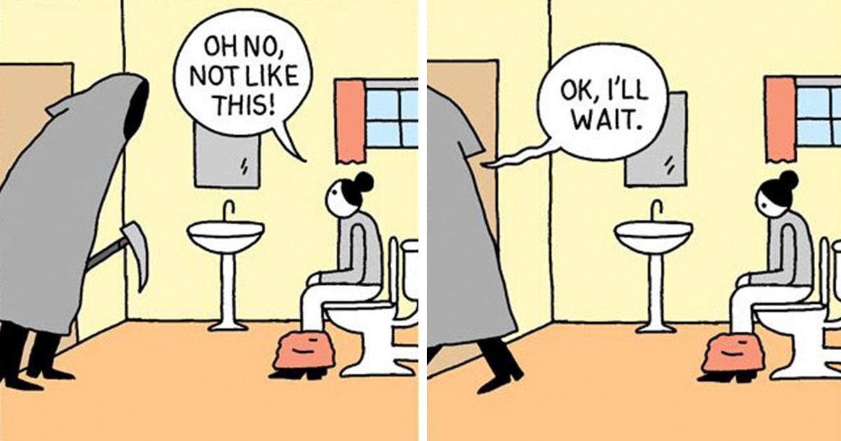10+ Hilarious Comics With Unexpected Endings By War And Peas (New Pics)