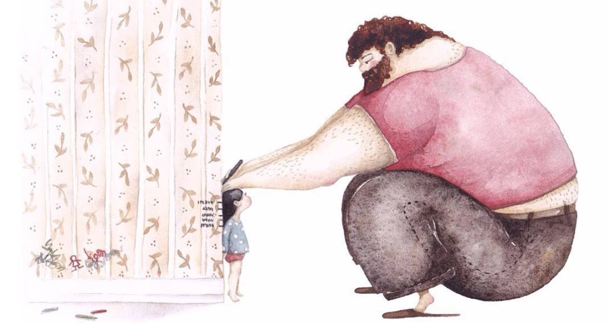 The Love Between Dads And Their Little Girls In 25+ Heartwarming Illustrations By Ukrainian Artist