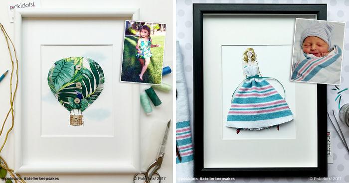 776108968b1e I Create Beautiful Custom Keepsakes Out Of Outgrown Baby Clothes ...