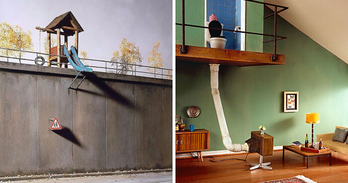 German Artist Creates Miniature Scenes With A Darkly Satirical Twist