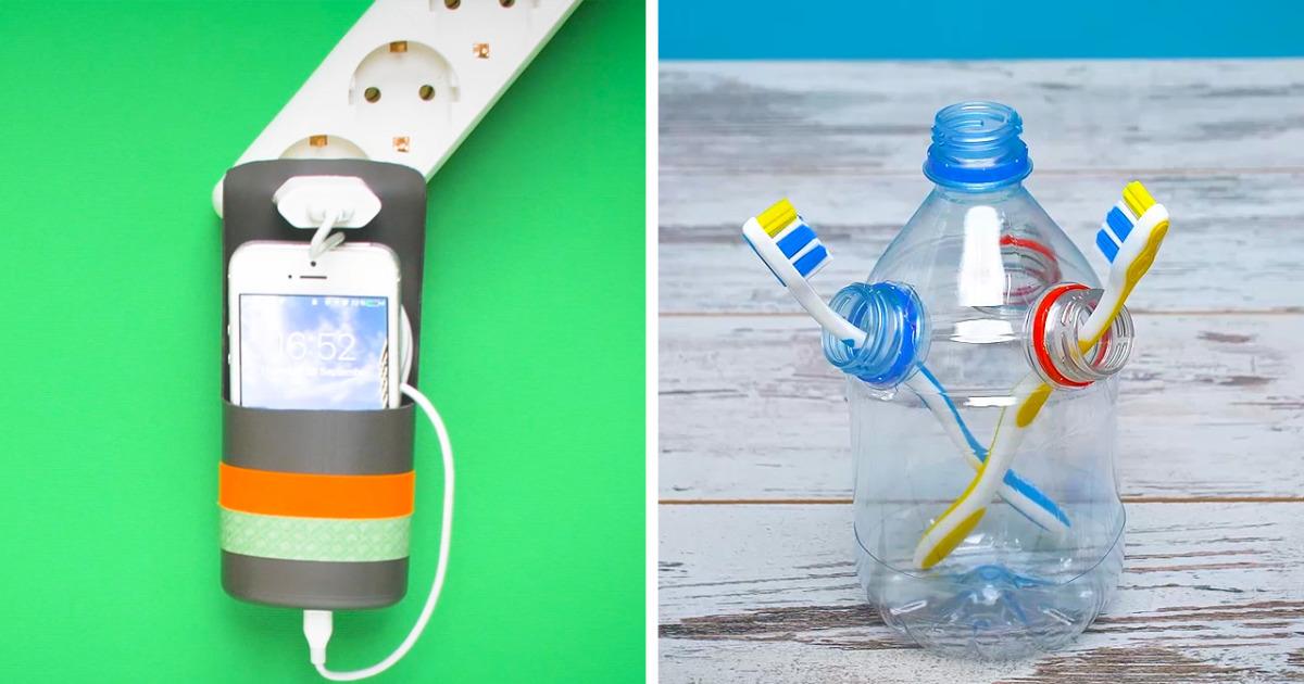 16 useful ways to reuse plastic bottles bored panda for Ways to recycle plastic bottles