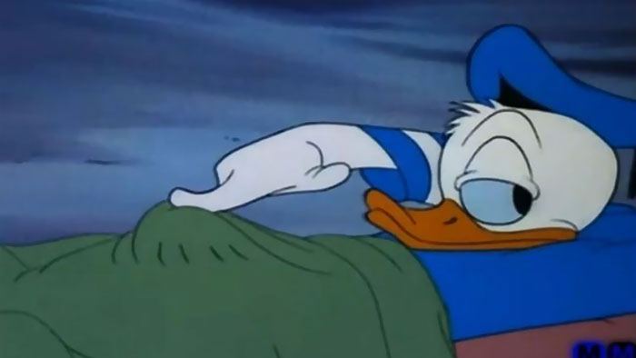 That Moment You Realize What Donald Really Has Under The Covers