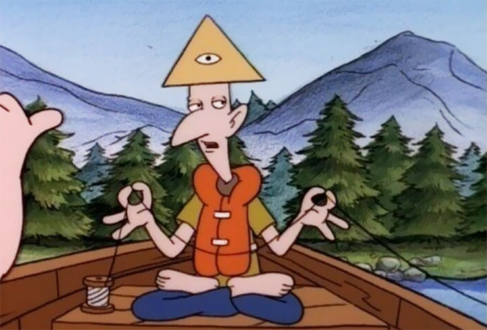 You Probably Missed That Stinky From Hey Arnold Was A Part Of The Illuminati