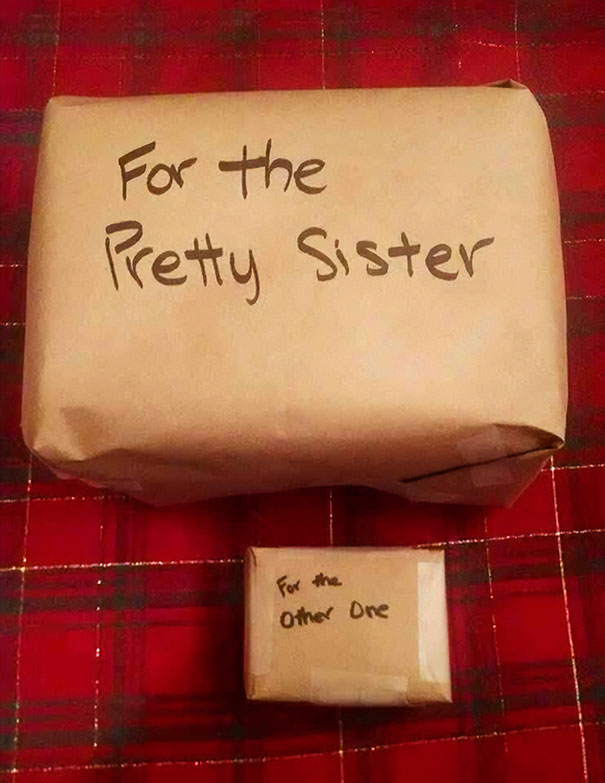Funny christmas gift opening ideas