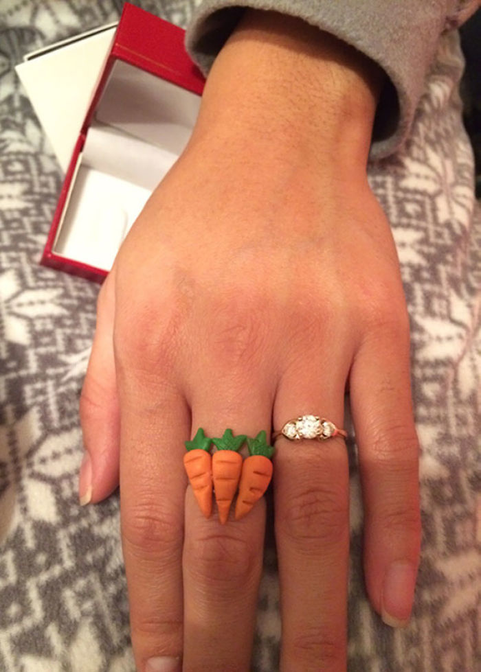 I Got My Gf A 3ct Ring For Christmas. She Was Not Happy