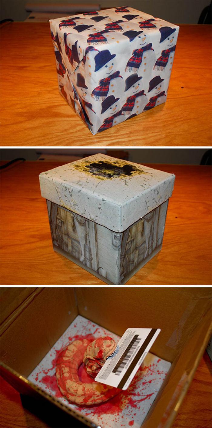 In meiner Familie geht es nicht um das Geschenk, sondern darum, wie man es verpackt