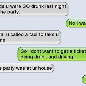 You Were So Drunk Last Night