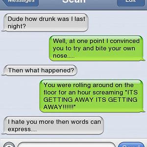How Drunk Was I Last Night?