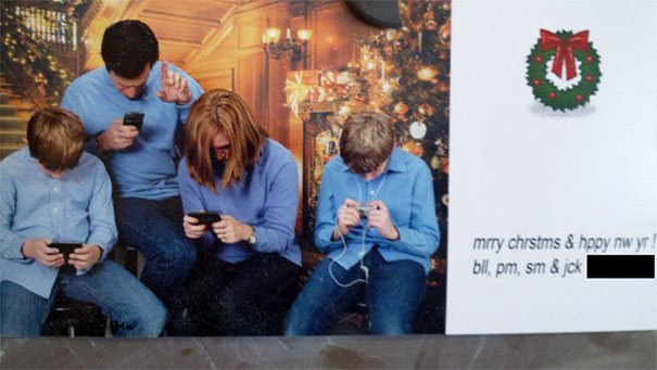 Clever Christmas Card