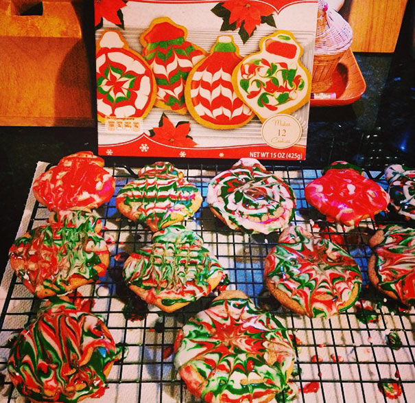 """It Looks Like An Elf Exploded Over Your Cookies."""