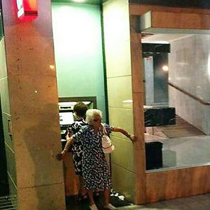 ATM Security Level: Grandma