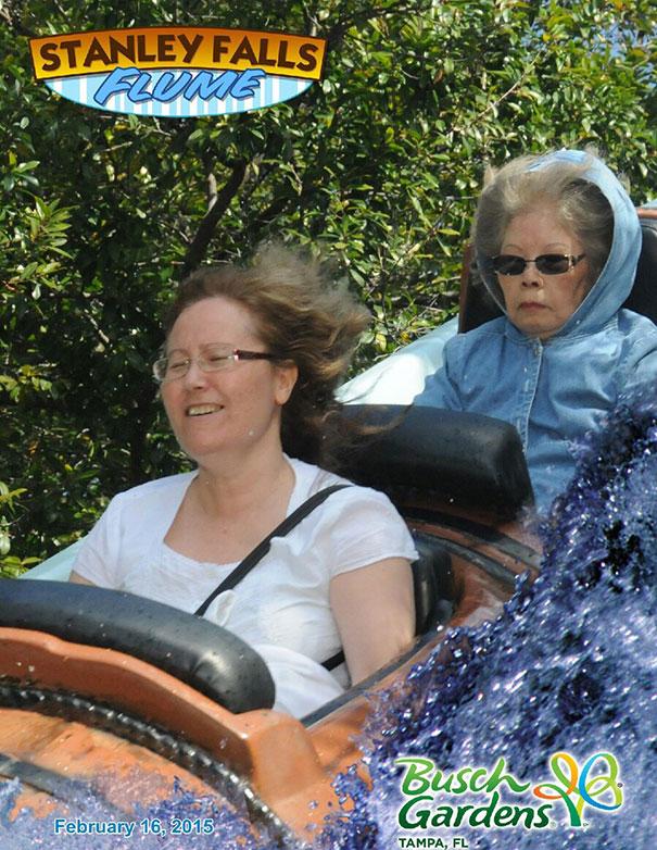 Grandma Is Not Enthused