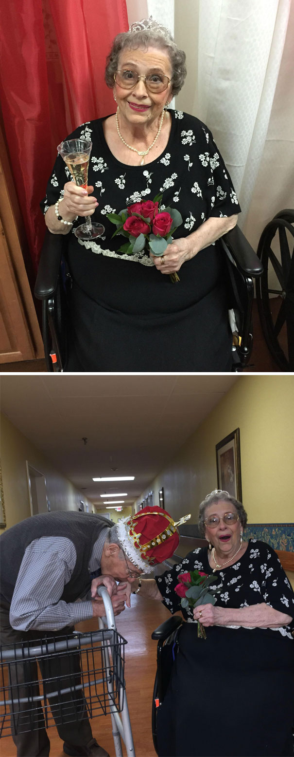 89-year-old grandma discovered the photo for herself and now makes funny and crazy pictures